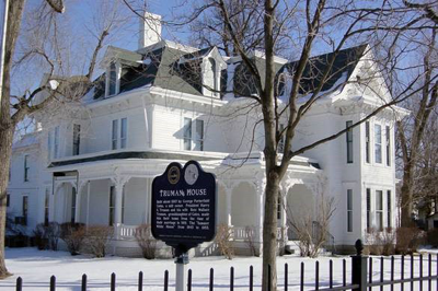 Truman Home - historic landmark in Independence, MO